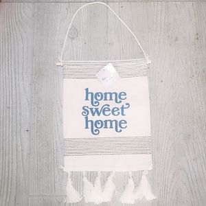#1091 Home Sweet Home Wall Ornament Hanging